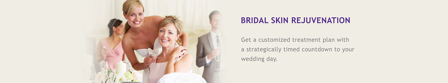 Bridal Skin Rejuvenation: Get a customized treatment plan with a strategically timed countdown to your wedding day.