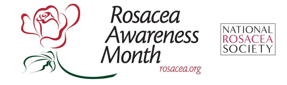 Logo for Rosacea Awareness Month